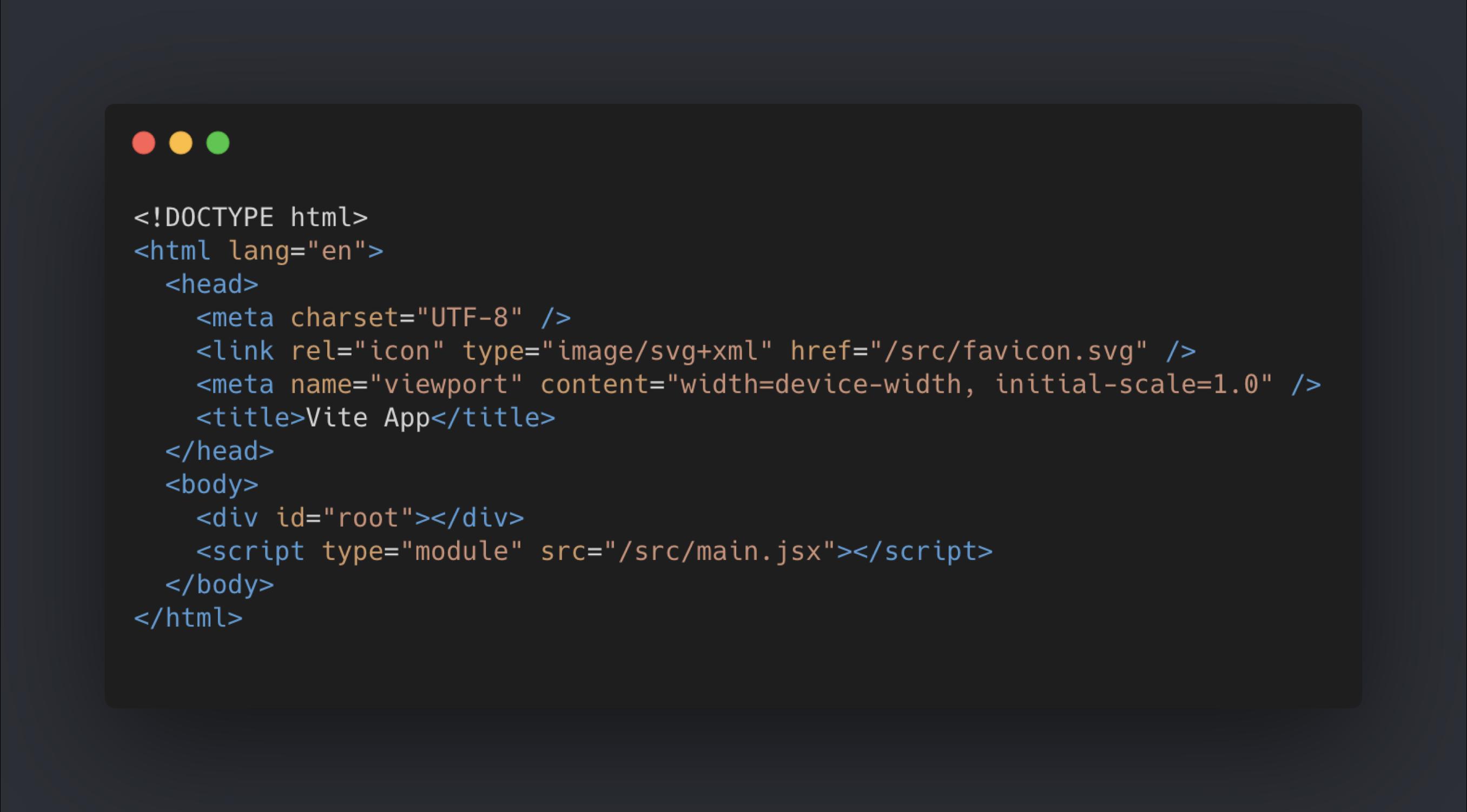 Demo HTML Code