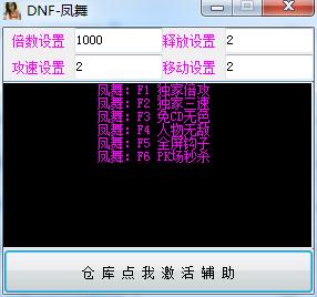DNF龙凤V3.12独家过检测持续稳定奔放破解版