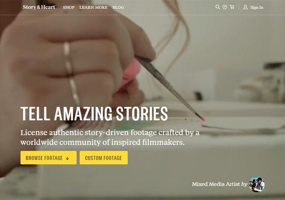 更令人印象深刻的视频背景的网站设计欣赏 设计灵感 网页设计 创意网站 html5