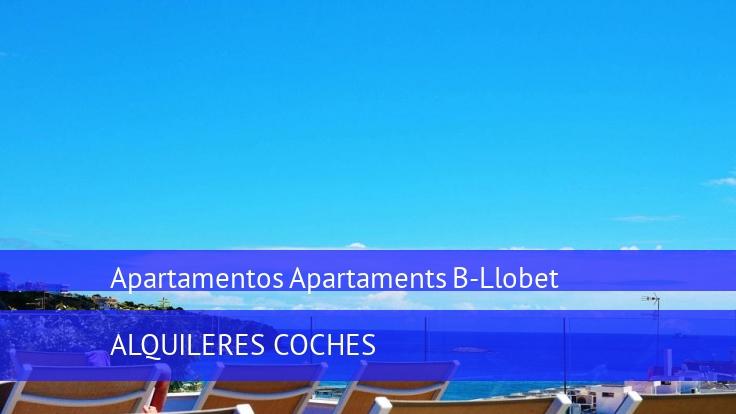 Apartamentos Apartaments B-Llobet