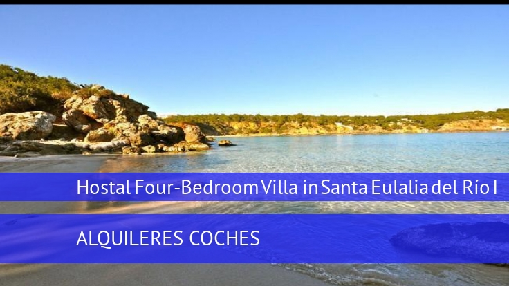 Hostal Four-Bedroom Villa in Santa Eulalia del Río I