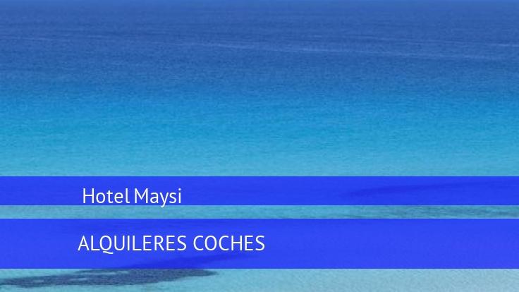 Hotel Maysi reservas