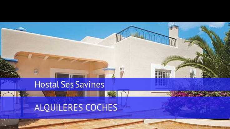 Hostal Ses Savines booking