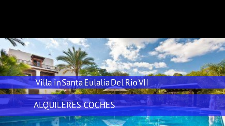 Villa Villa in Santa Eulalia Del Rio VII