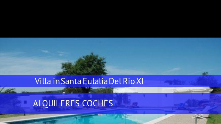 Villa Villa in Santa Eulalia Del Rio XI