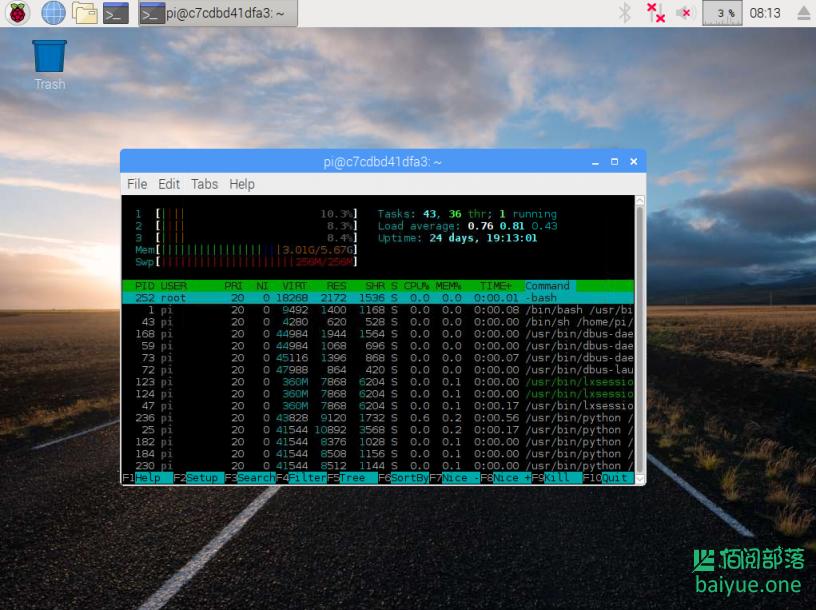 Docker安装Raspbian(树莓派操作系统)