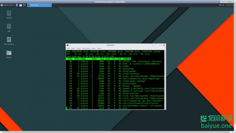 Docker安装Xfce桌面环境(轻量可视化操作系统)