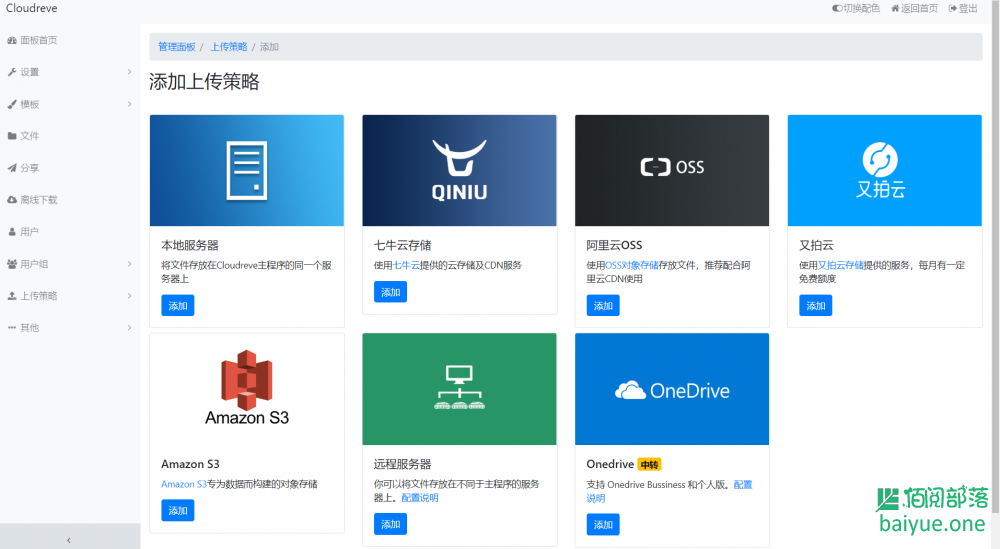 Cloudreve:一款公私兼备,可商用的云盘系统