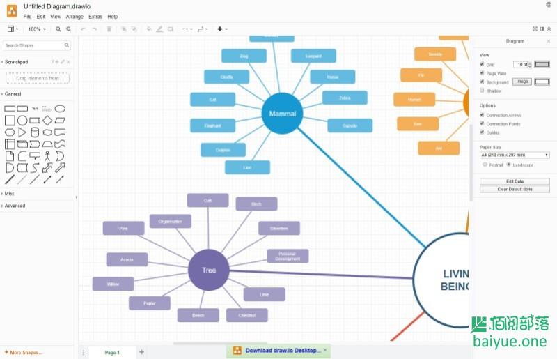 DRAW.IO:一款开源免费的流程图绘制工具