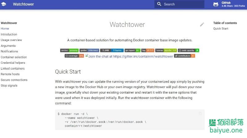 WatchTower: 自动更新Docker容器,实现容器自更新