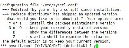 Linux内核运行参数的配置文件