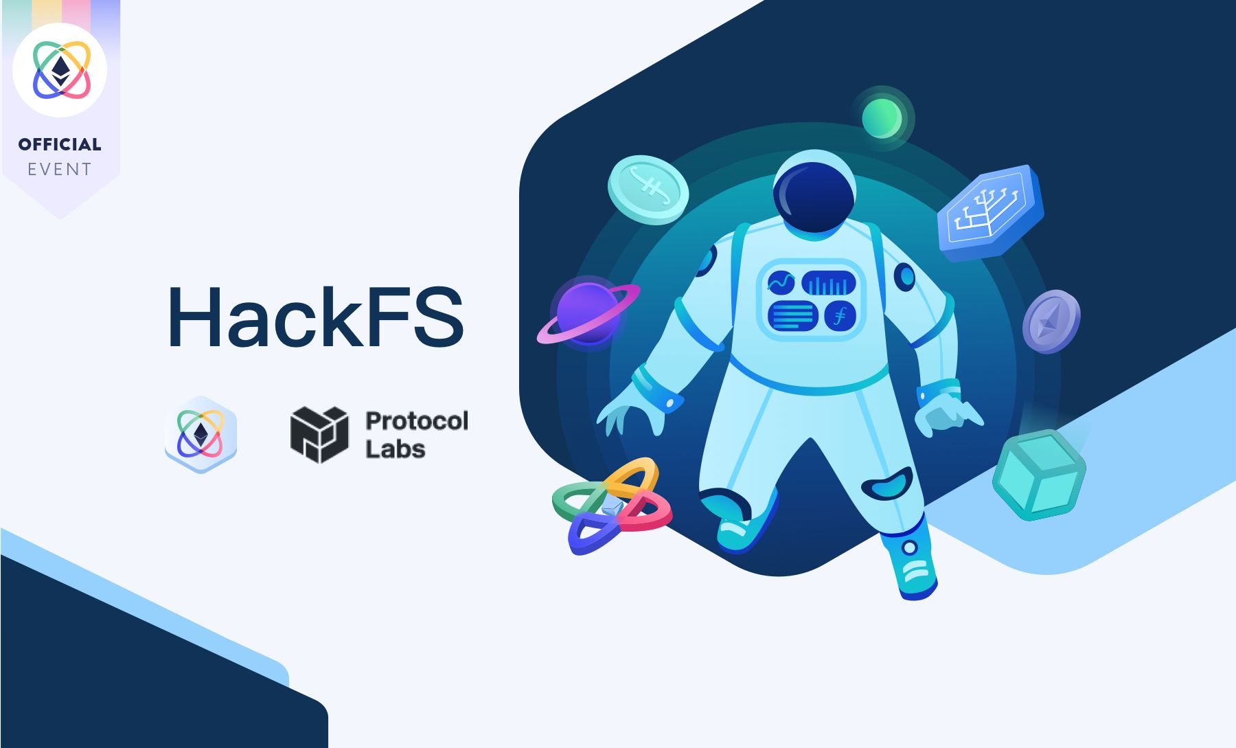 ETHGlobal 邀你共建 web3 基础设施:HackFS 黑客松开启报名