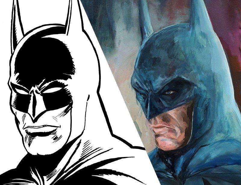 天价NFT艺术品:蝙蝠侠题材的加密艺术品以总价20万美金成交