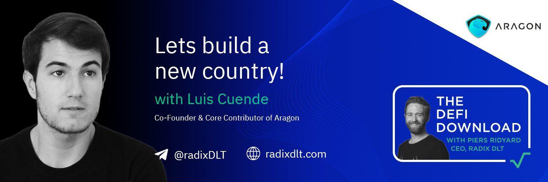 Luis做客Radix介绍Aragon未来计划