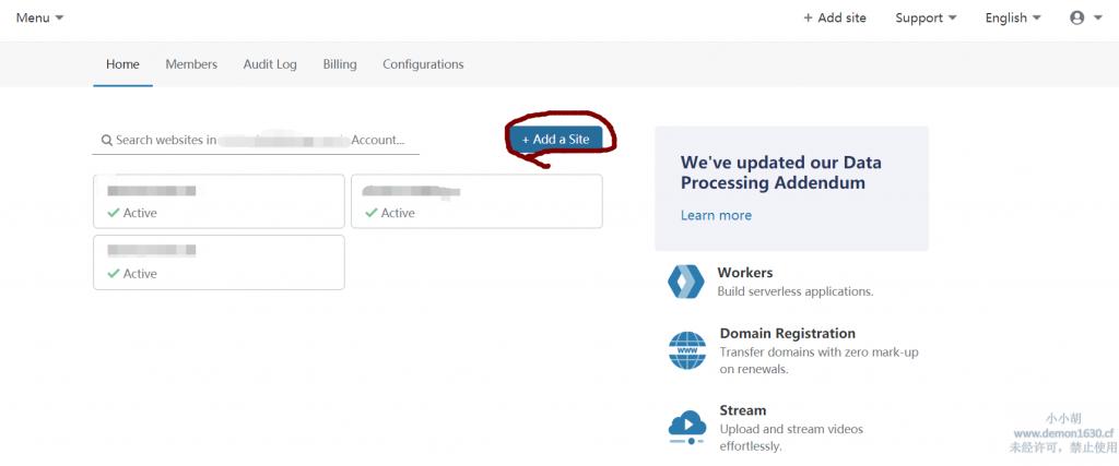 使用cloudflare解析域名并隐藏搬瓦工真实ip