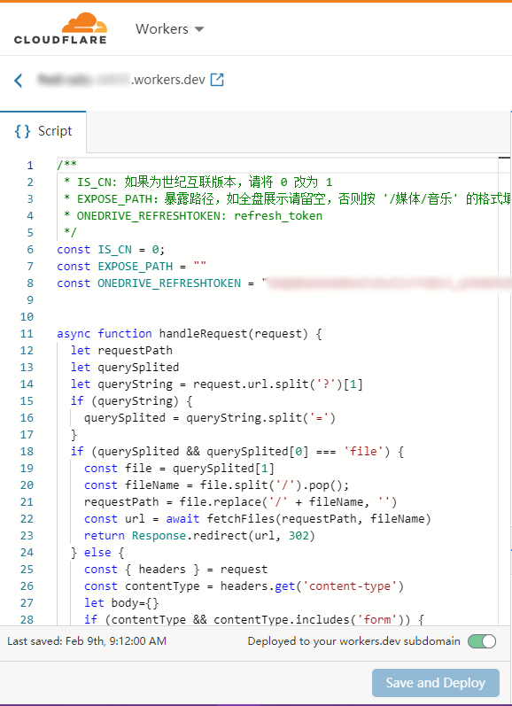 cloudflare editor