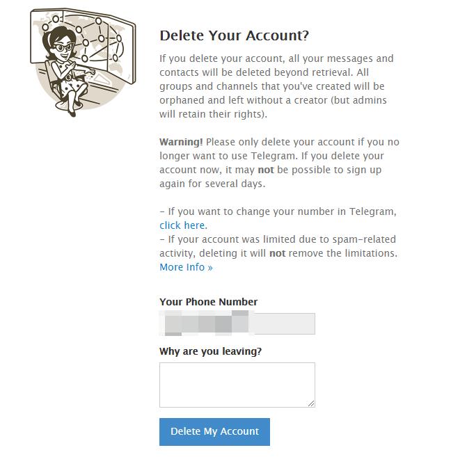 Delete My Account