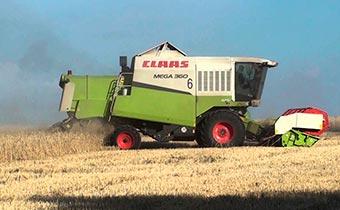 Комбайн зерноуборочный CLAAS MEGA-360