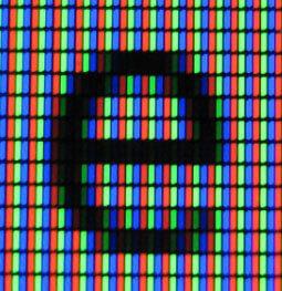 """亚像素抗锯齿的小写字母""""e"""""""