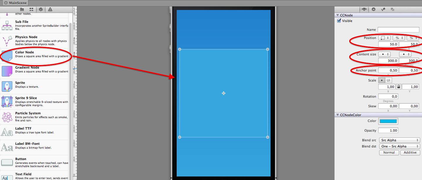 Adding a grid