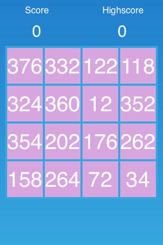 Wide spread tiles