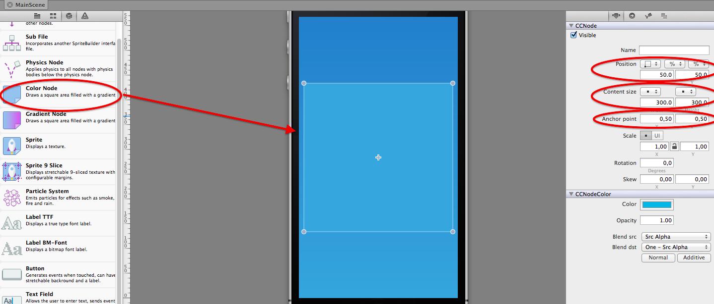 Adding the grid