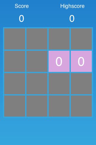 Two spawned tiles in simulator