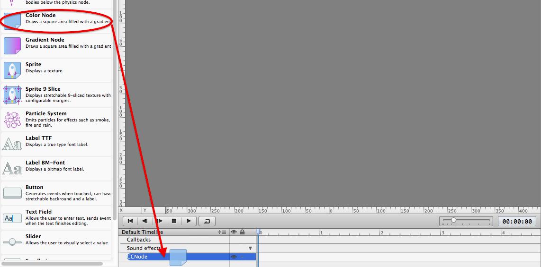 Adding a color node