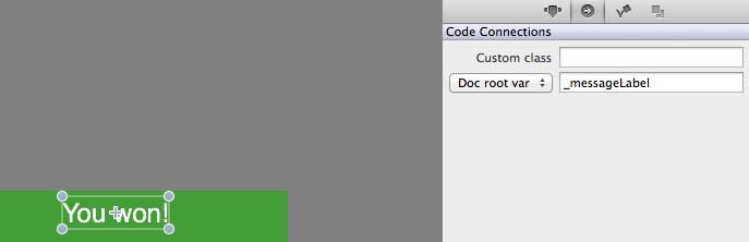 Linking method to restart button