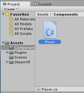 The Player component