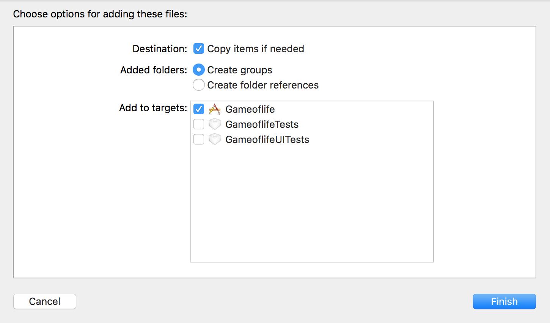 Xcode add utils