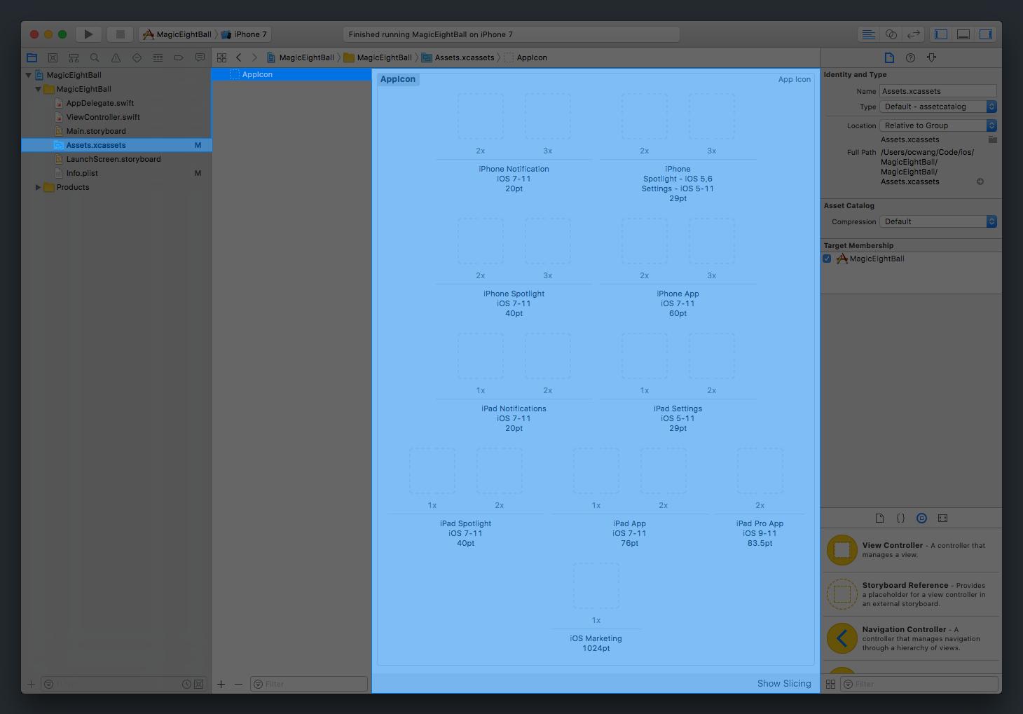 App Icon Asset Empty