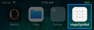 Home App Display