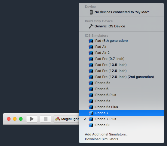 Select iPhone 7 Scheme