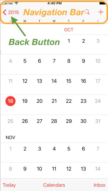 calendar app month view