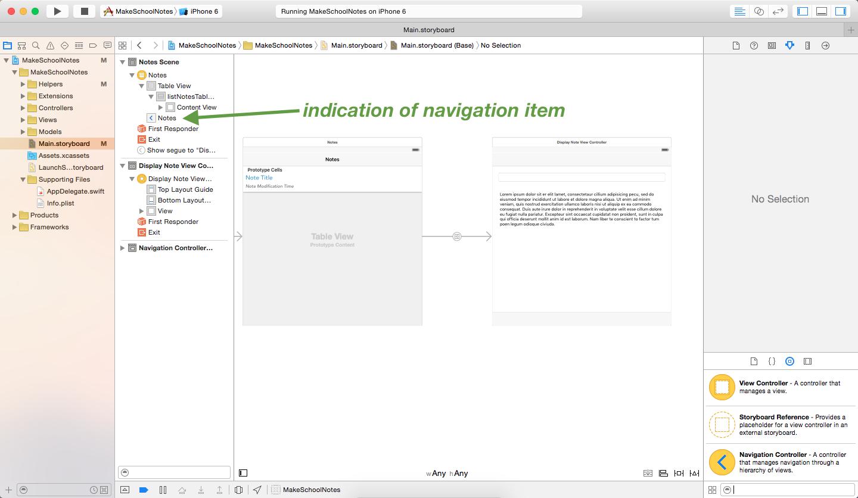 image showing navigation item