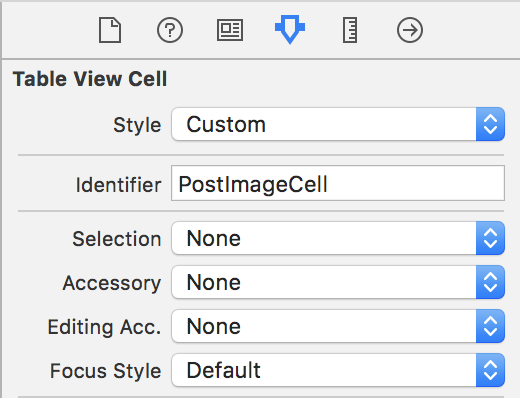 Cell Attributes