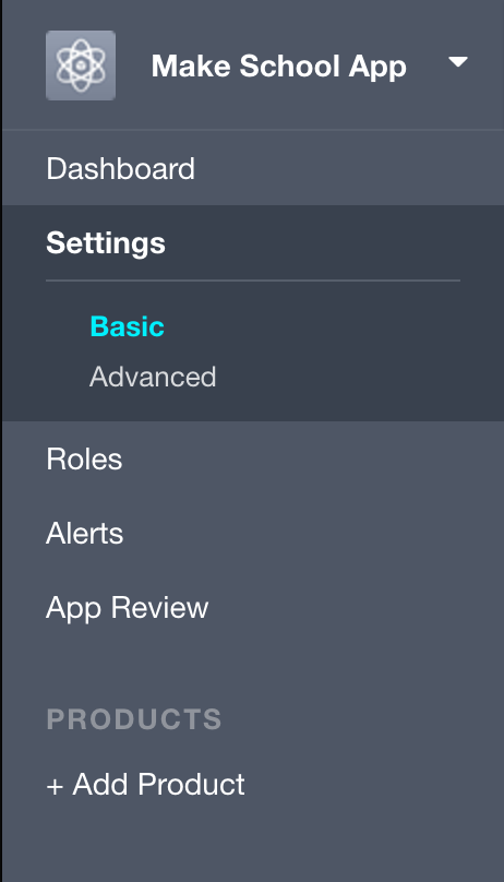 Settings Tab