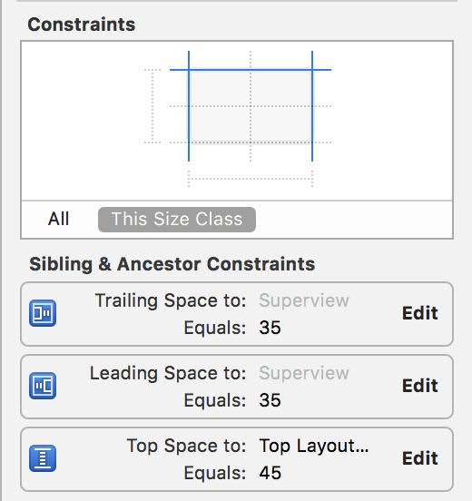 Stack Constraints