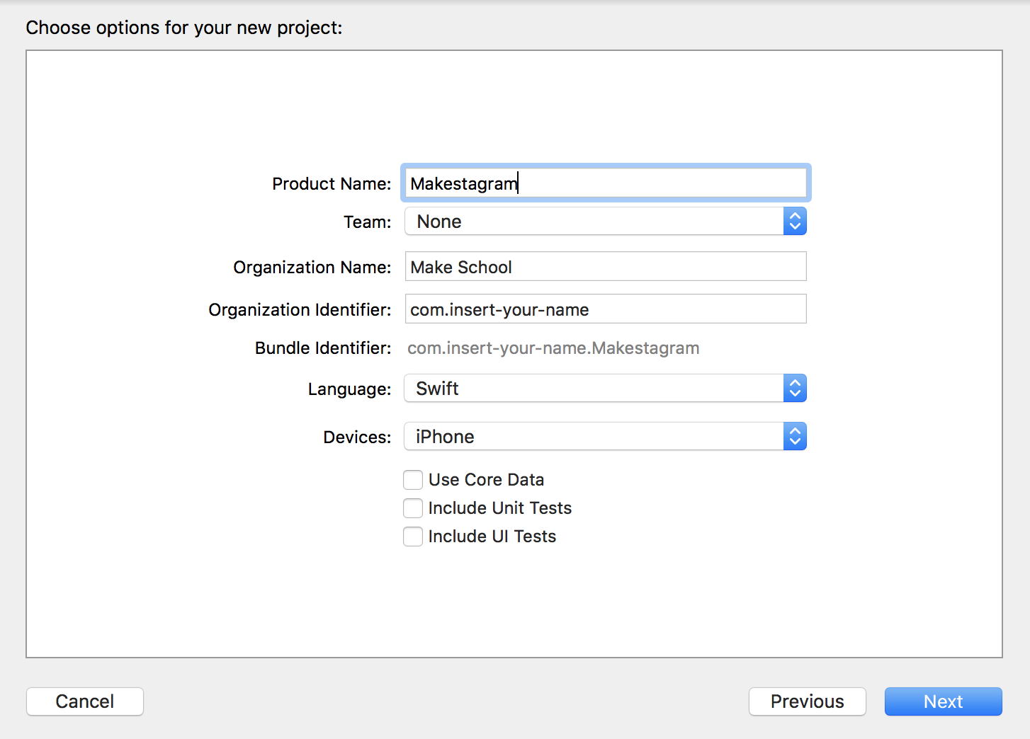 Setting up the Xcode Project / CocoaPods   Make School