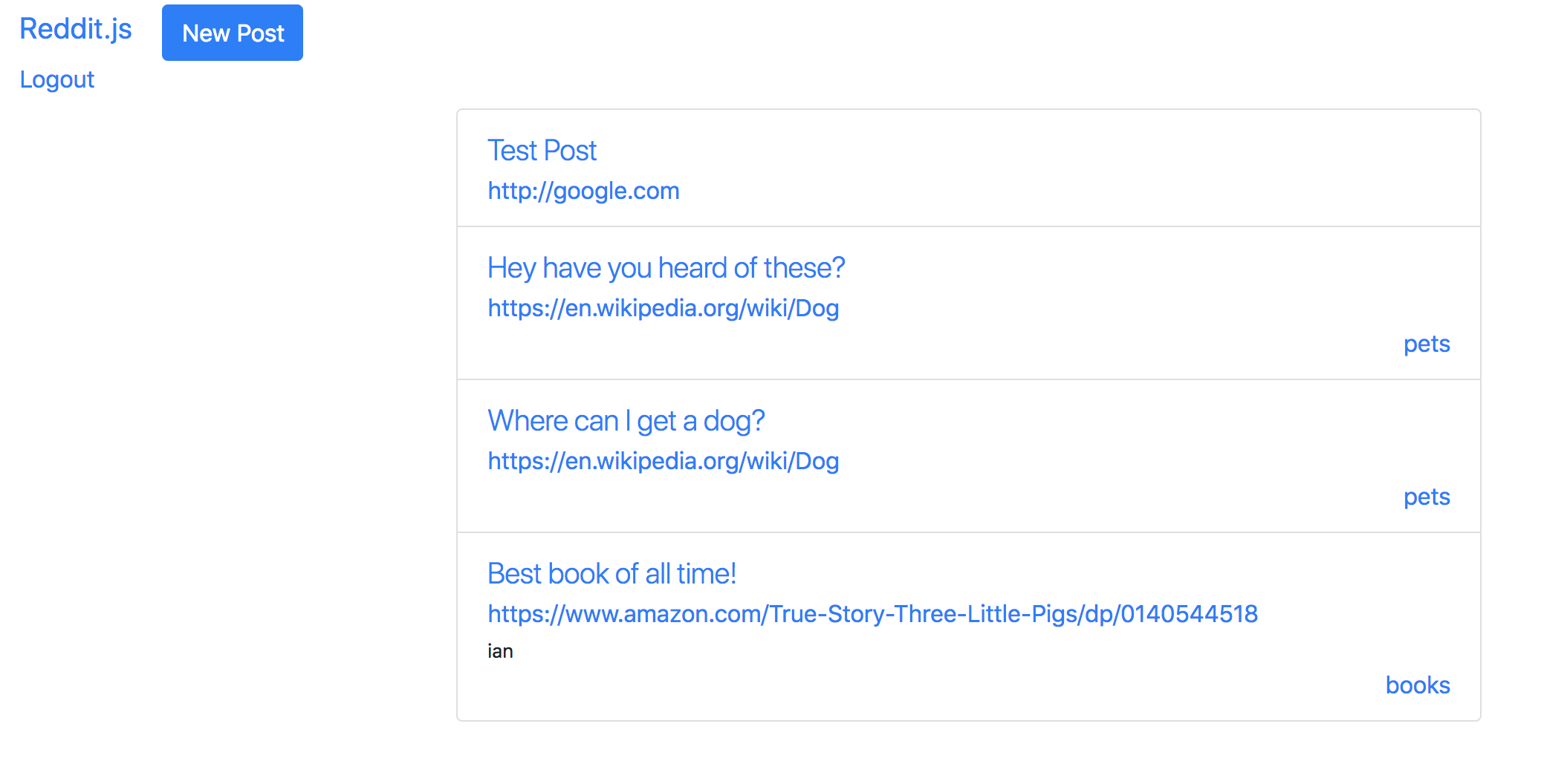 Associate Posts and Comments with User | Make School