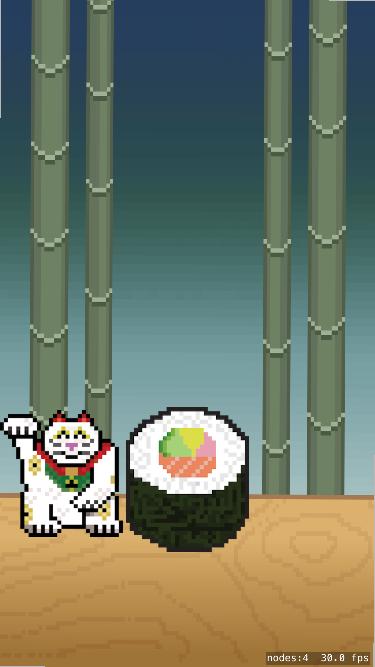 Screenshot Sushi Cat