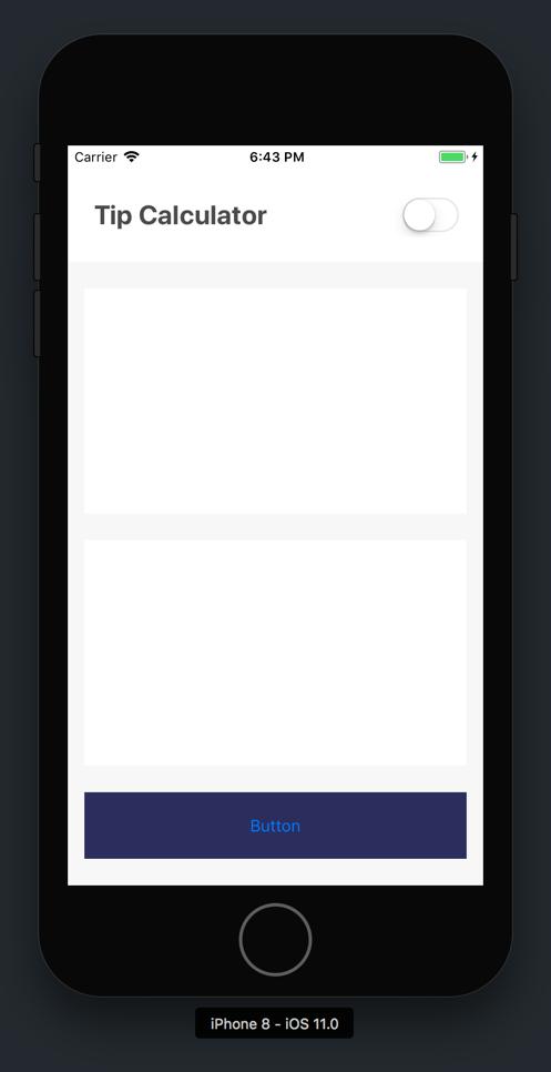 Finished Header App Snapshot