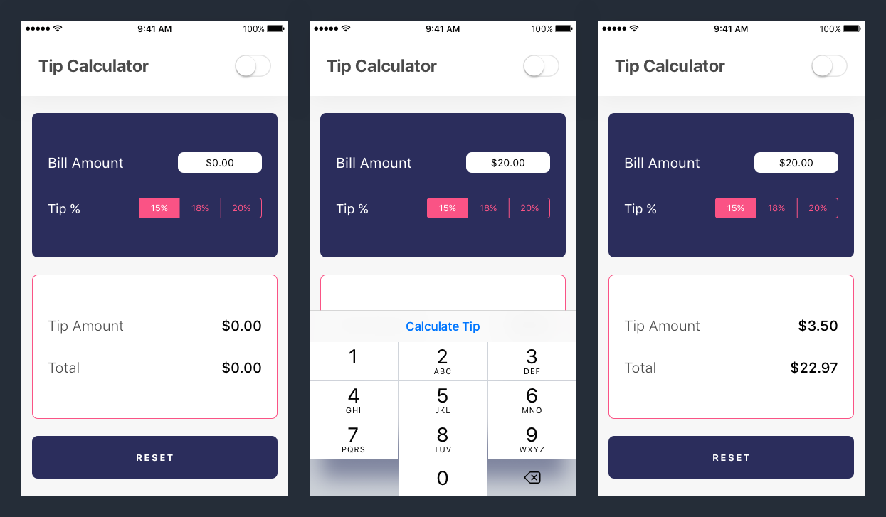 Build a Tip Calculator in Swift 4 Image