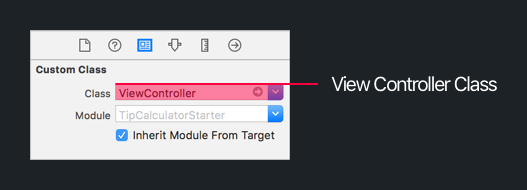 Storyboard View Controller Class