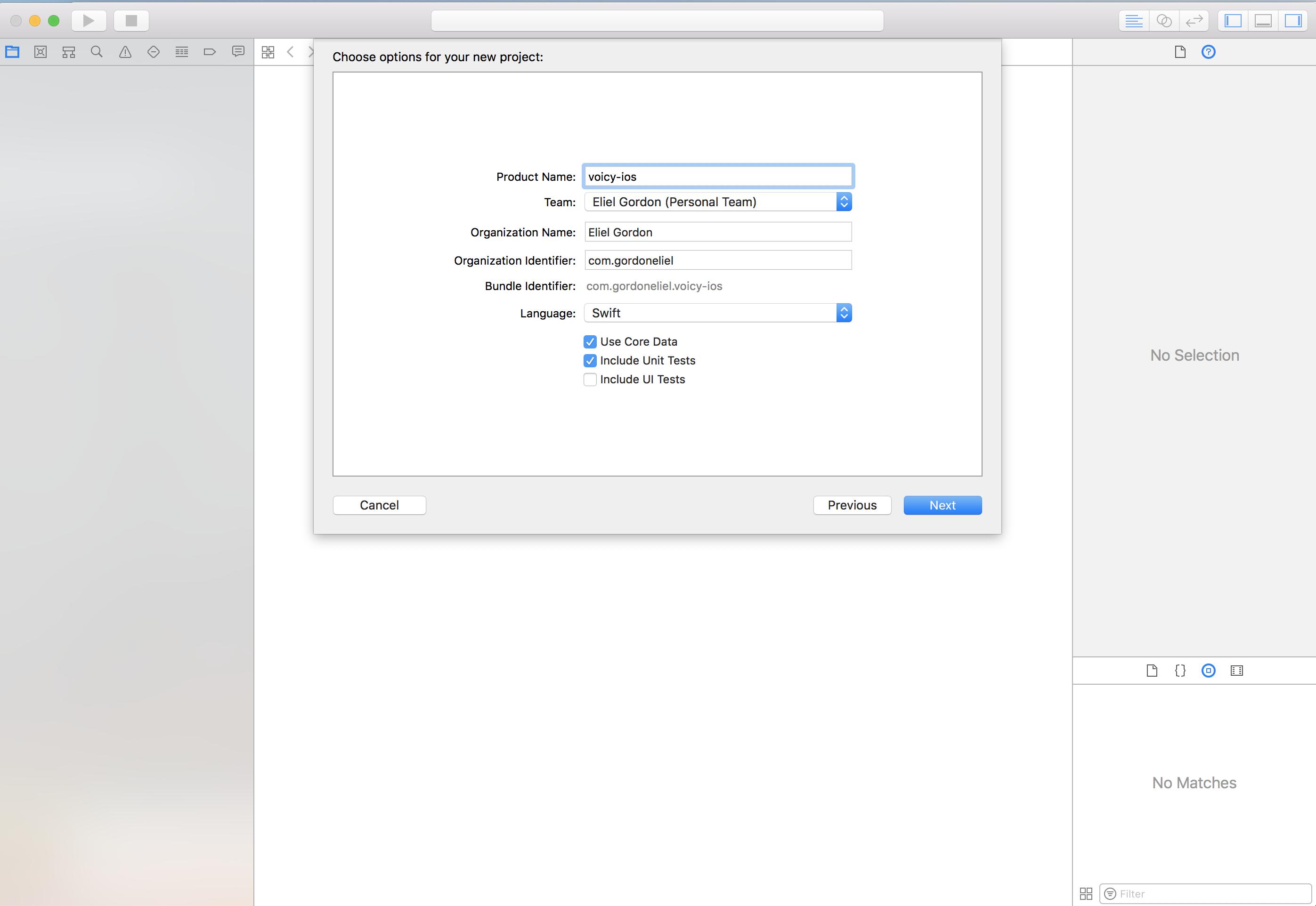 Xcode New