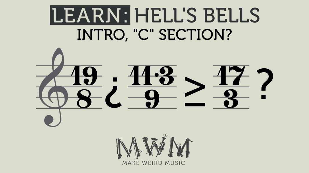 C section: 19/8 ¿ 11.3/9 ≥ 17/3 ? (It's a joke)