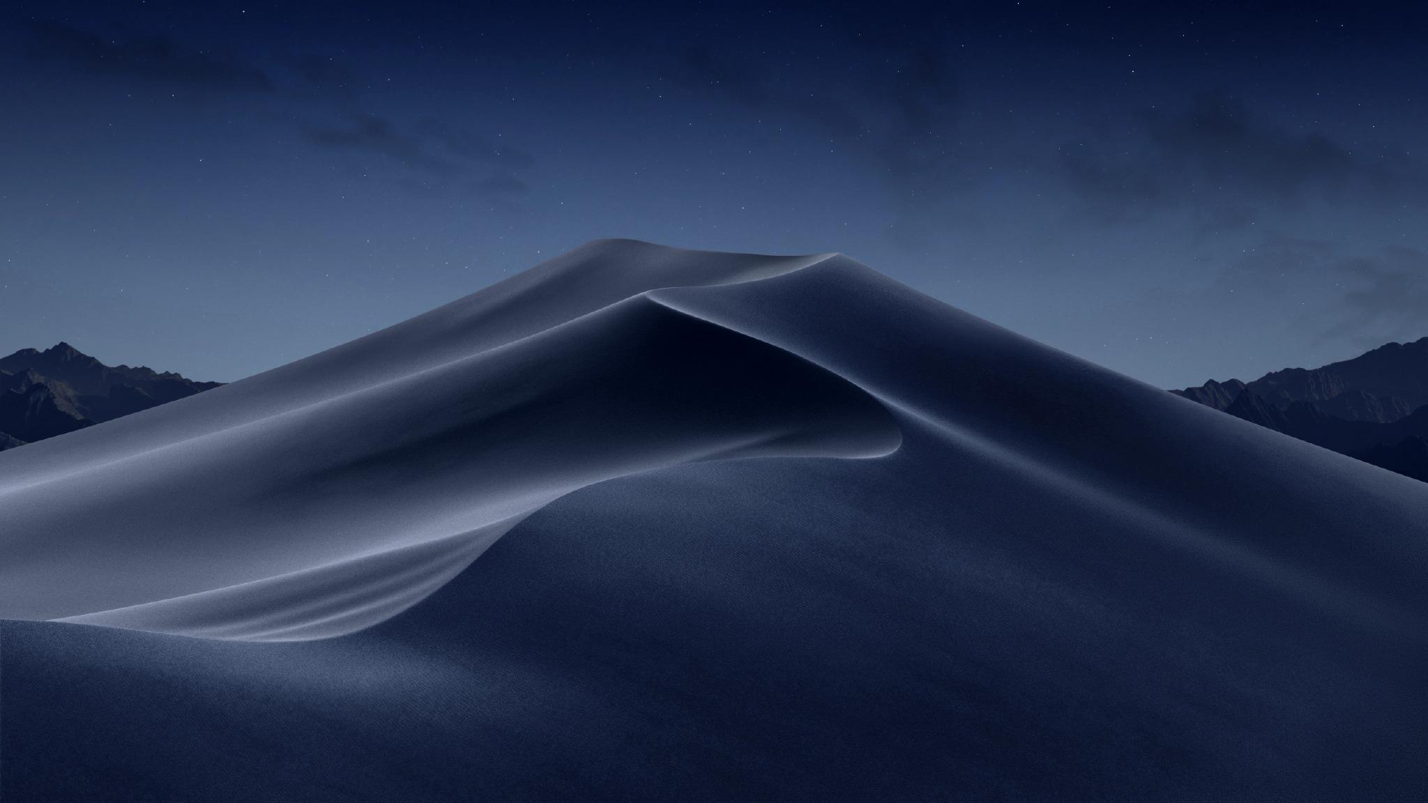 MacOS Mojave 全套自带沙漠壁纸