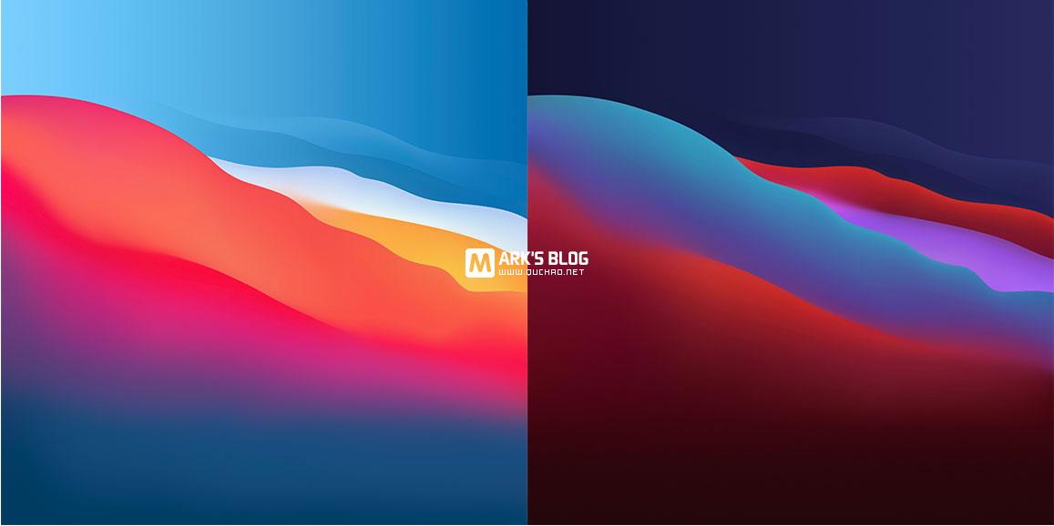 macOS Big Sur 自带壁纸 6K