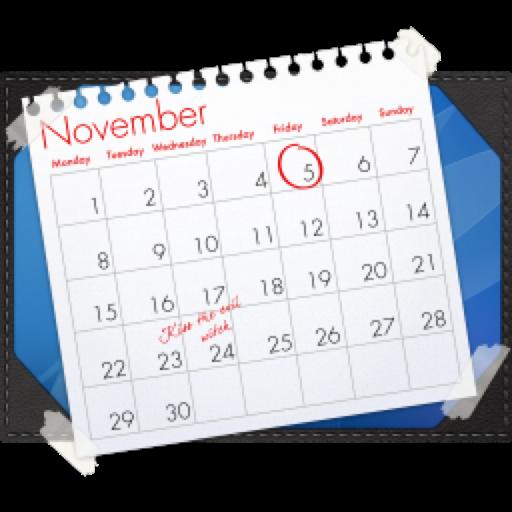 Blotter 2.2.5 破解版 – 桌面日历软件